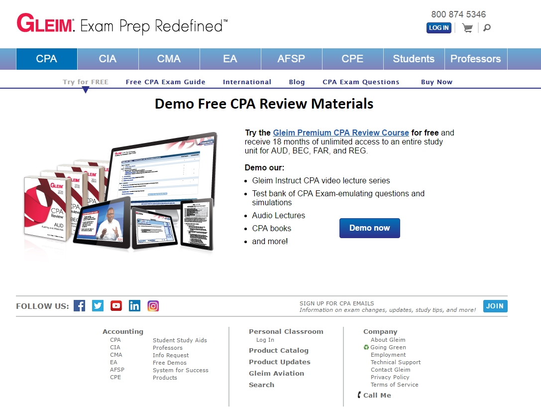 SELF-STUDY CPA Exam Review Format