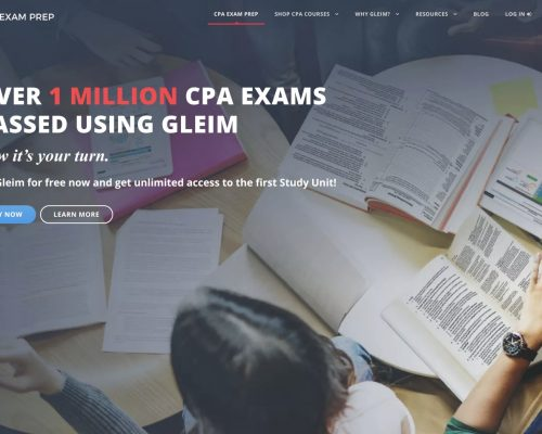 Gleim CPA Review Home